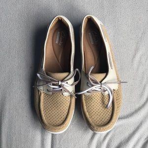 Clark's jocolin boat shoes